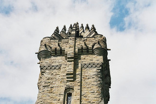 Wallace Monument 2 - Wallace, Monument, Stirling, Gebäude, Turm, Turmspitze, Schottland, Fassade, Gotik, Museum