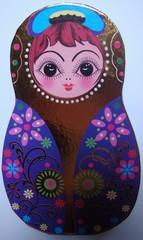 Matroschka #5 - Matroschka, Holz, Puppe, Souvenir, russisch, Russland