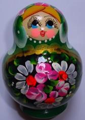 Matroschka #1 - Matroschka, Puppe, Holz, Souvenir, russisch, Russland