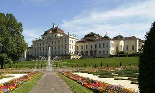 Schloss Ludwigsburg - Residenzschloss, Schloss, Barock, Gartenanlage, Schlosspark