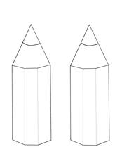 Vorlage Namensschild - Namensschild, Stift, Basteln, Name, Vorlage