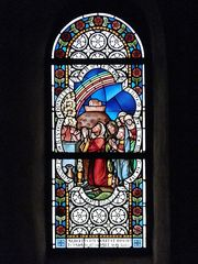Glasfenster im Limburger Dom - Domfenster, Glasfenster, Kirche, Kirchenraum, Kirchenfenster, Brauchtum, Glaskunst, Mosaik, bunt, Fenster, Muster, Blick, Aussicht, Kunst, Verglasung, Bemalung, Bleiverglasung, Glaskunst