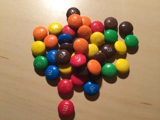 Schokolinsen - Mathe, Schokolade, zählen, Zahl, Mathe, Schokolade, zählen, Menge, wenig, viel, bunt, Farbe, farbig, Schokolinsen, schätzen