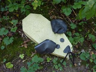 Maus aus Sandstein - Maus, Sandstein, Folie, Projekt