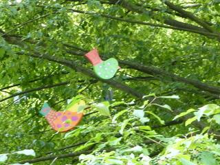 Laubsägearbeit Vogel - Laubsägearbeit, Vogel, sägen, Holz, schleifen, schmirgeln, bemalen