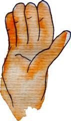 tangere - berühren, anfassen, fühlen, anfassen, Hand