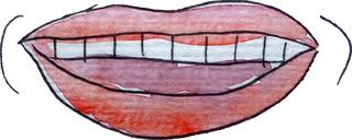 ridere - lachen, Humor, mündliche Kommunikation, Gefühlsausdruck, Freude, Mund