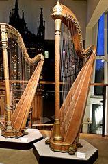 Harfe - Harfe, Musik, Instrument, Leier, Lyra, Saiten, Anlaut H, Saiteninstrument, musizieren, zupfen