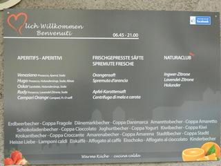 Speisekarte deutsch italienisch - Café, Speisekarte, deutsch, italienisch