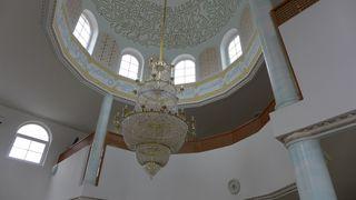Moschee #3 - Kuppel, Gebetsraum, Moschee, Islam, Religion, Kultstätte, Kalligraphie, Weltreligion, Sakralbauten