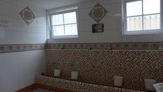 Moschee #6 - Moschee, Islam, Religion, Kultstätte, Waschraum, Wudu, Sauberkeit, Ritus, Waschvorrichtungen