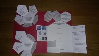 Lapbook  - Lapbook, Faltbuch, Mappe, Portfolio, Physik, Übersicht, Zusammenfassung, Präsentationsform, Erkenntnisse, Informationen, verschiedene Aspekte, schriftlich, zeichnerisch, Vorlagen