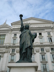 Nice - Statue de la liberté - Frankreich, Nizza, Nice, statue de la liberté, Freiheitsstatue, promenade des Anglais