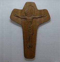 Jesus Christus - Jesus, Christus, Kreuz, Liturgie, Holzplastik, Meditation, Christentum