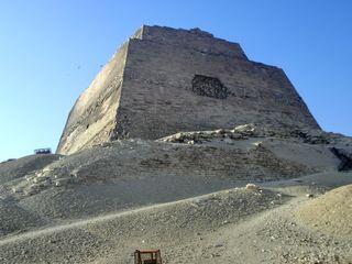 Pyramide von Meidum - Pyramide, Meidum, Snofru, Huni, Stufenpyramide, Grabstätte, Totenkultur, Sakralarchitektur, Bauwerk