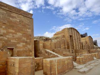 Stufenpyramide von Sakkara, Sed-Fest-Anlage - Sakkara, Sed-Fest, Djoser, Südgrab, Imhotep, Altes Reich, Ägypten, Grabstätte, Totenkultur, Sakralarchitektur, Bauwerk