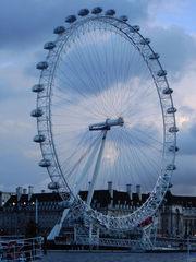 London Eye - London, Sightseeing, Themse, London Eye, Riesenrad