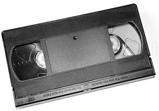 VHS - Video - Kassette - Video, Medium, Medien, Musik, Aufzeichnung, Tonsignale, technisch, Technik, Magnetband, Kassette, Tonträger, elektromagnetisch, abspielen, Recorder, Datenspeicherung, Videoband