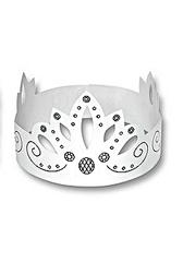 Krone #2 - Krone, König, Märchen, Sage, Schmuck, Kopfschmuck, Illustration, Anlaut K, Einzahl, Singular