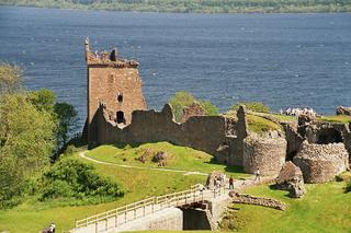 Urquhart Castle - Urquhart Castle, Ruine, Loch Ness, Gebäude, Schottland, alt, verfallen