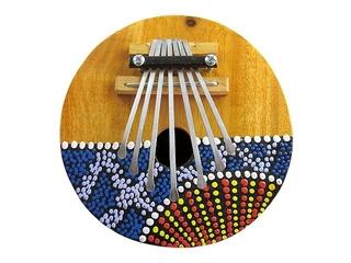 Kalimba (Daumenklavier) - Musik, Instrument, musizieren, spielen, Klang, Ton
