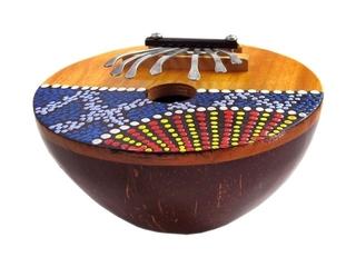 Kalimba (Daumenklavier) - Instrument, Musik, Ton, spielen, musizieren, Klang, klingen