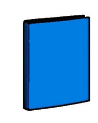 Ordner - Aktenordner - Ordner, Hefter, Mappe, Kunststoff, farbig, Ordnung, Schriftgutbehälter, sammeln, ordnen, Akten, Akte, blau, Stehordner, abheften, ablegen