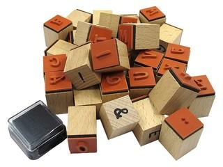 Motivstempel mit Buchstaben - Stempel, Druck, Druckerzeugnis, Zeichen, drucken, gestalten, Bild, Stempelkissen, Symbol, Anlaut St, Motivstempel, Buchstaben, stempeln