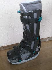 Orthese - Orthese, Bruch, Beinbruch, Sprunggelenk, medizinisches Hilfsmittel, Stabilisierung, Entlastung, Ruhigstellung, Gipsersatz, Gelenkstabilisierung