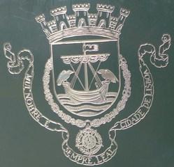 Stadtwappen von Lissabon - Wappen, Stadtwappen, leal, Lisboa, nobre, cidade