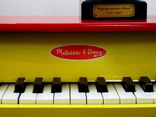 Kinderklavier 2 - Kinderklavier, Klavier, Tasteninstrument, Glockenspiel, Musik, Musikunterricht, Miniklavier, Piano, klein, Toypiano, toy piano, Taste, Tasten