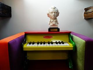 Kinderklavier 1 - Kinderklavier, Klavier, Tasteninstrument, Glockenspiel, Musik, Musikunterricht, Miniklavier, Piano, klein, Toypiano, toy piano