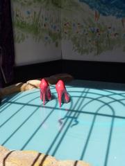 Die roten Schuhe - die roten Schuhe, Märchen, Hans Christian Anderson