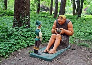 Märchenfiguren - Das tapfere Schneiderlein #1 - Märchen, Märchenfigur, Figur, Figuren, Riese, Schneiderlein, Schreibanlass, Geschichten, Erzählanlass