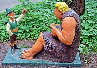 Märchenfiguren - Das tapfere Schneiderlein #2 - Märchen, Märchenfigur, Figur, Figuren, Riese, Schneiderlein, Schreibanlass, Geschichten, Erzählanlass