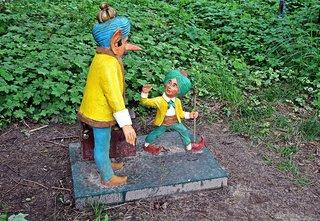 Märchenfiguren - Der kleine Muck #1 - Märchen, Märchenfigur, Figur, Figuren, Muck, Vater, Rahmengeschichte, laufen, Schreibanlass, Geschichten, Erzählanlass