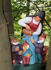 Märchenfiguren - Schneewittchen - Märchen, Märchenfigur, Figur, Figuren, Mädchen, Schneewittchen, Prinzessin, Prinz, Zwerge, sieben, Schreibanlass, Geschichten, Erzählanlass