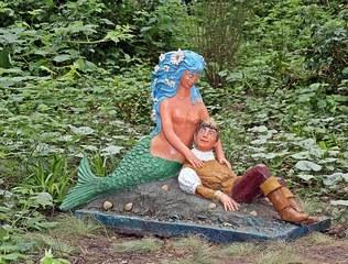 Märchenfiguren - Die kleine Meerjungfrau - Märchen, Märchenfigur, Figur, Figuren, Mädchen, Prinzessin, Prinz, Nixe, Meerjungfrau, Undine, Schreibanlass, Geschichten, Erzählanlass