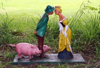 Märchenfiguren - Schweinehirt - Märchen, Märchenfigur, Figur, Figuren, Mädchen, Schweinehirt, Prinz, Kuss, Schreibanlass, Geschichten, Erzählanlass