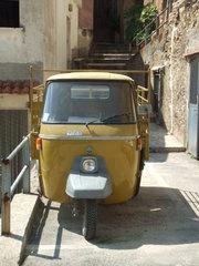 Ape - Ape, Auto, Lieferwagen, Transport, Italien, Vespa