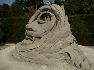 Skulptur aus Sand #4 - Skulptur, Sand, Sandskulptur, Kunst, Kunstwerk, Bildhauerei