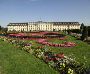 Residenzschloss Ludwigsburg - Residenzschloss, Schloss, Barock, Gartenanlage, Schlosspark