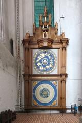 Astronomische Uhr in Lübeck # 1 - Uhr, Zeit, Zeitmessung, Astronomie, Mondphasen, Sonnenstand, Planetenstellung