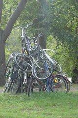 Fahrradstapel - Fahrrad, Denkmal, Kunst