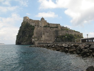 Festung Aragonese - Festung, Burg, Kastell, Wehrbau, Verteidigung, Italien, Ischia, Neapel, Geschichte
