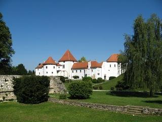 Schloss Varaždin - Schloss, Varazdin, Burg, Festung, Rundturm