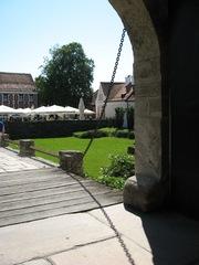 Detail Zugbrücke - Schloss, Zugbrücke, Graben, Festung, Verteidigung