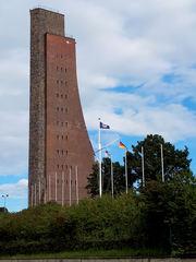 Marine-Ehrenmal in Laboe #1 - Denkmal, Ehrenmal, Marine, Krieg, Seefahrt, Tote, Gedenken, Ehrung, Erinnerung, Laboe, Turm, Aussichtsturm, Küste, Ostsee