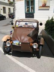 Oldtimer- Velorex - Oldtimer, Auto, alt, Veteran, Kraftfahrzeug, gepflegt, Sammlerstück, Automobil, Klassiker, Dreirad