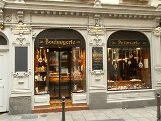 Boulangerie-Patiserie - Bäckerei, Konditorei, boulangerie, patisserie, boulanger, patissier, Geschäft, einkaufen